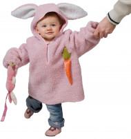 Lurvig kanin - Maskeraddräkt för barn till påsk
