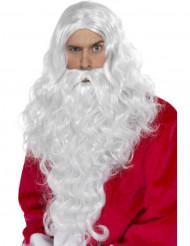 Jultomteperuk och skägg Vuxen
