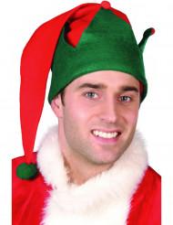 Tomteluva med grön kant - Jultillbehör för vuxen