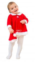 Liten tomteklänning för bebisar - Juldräkt