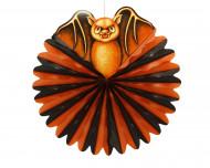 Hängande fladdermus dekoration i klotformat till Halloween