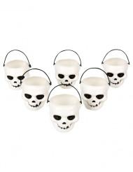 Dödskallebehållare - Halloweendekoration