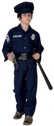 Polis Barn Maskeraddräkt