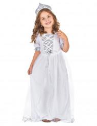 Glittrar som rimfrost - Prinsessdräkt för barn