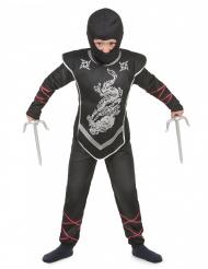 Silverdraken - Ninjadräkt för barn