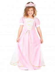 Ljusrosa Prinsessan - Maskeradkläder för barn