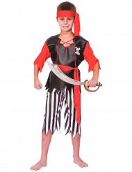 Piratdräkt för barn till maskeraden