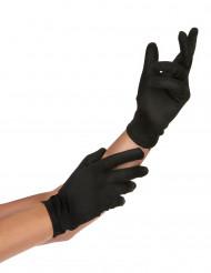 Svarta handskar Vuxen