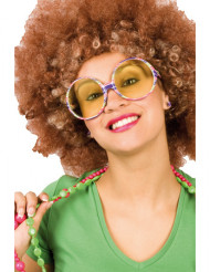 Hippieglasögon Vuxen