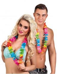 25 Flerfärgade Hawaiihalsband