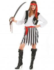 Piratdräkt för vuxna till maskeraden