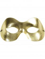 Gyllene ögonmask för vuxna till maskeradbalen