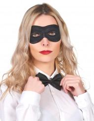 Svart ögonmask med gummibad - Masker för vuxna