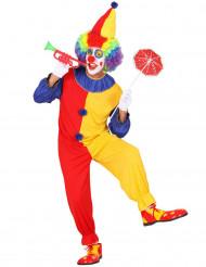 Clown - utklädnad vuxen