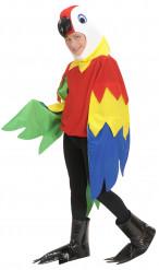Papegojdräkt för barn till maskeraden