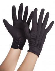 Svarta handskar vuxna