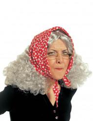 Peruk äldre dam