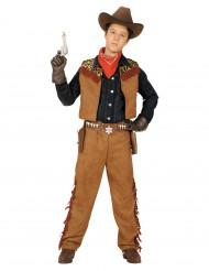 Cowboydräkt för barn till kalaset