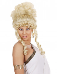 Blond gudinneperuk