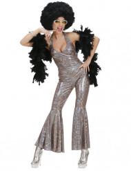 Silveroverall till discot - Maskeradkläder för vuxna