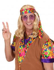 Billy - Blond hippieperuk för vuxna