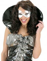 Silverfärgad ögonmask - Maskeradmasker för vuxna
