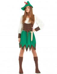 Kvinnlig Robin Hood Maskeraddräkt