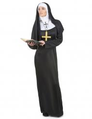 Syster ödmjuk - Nunnedräkt för vuxna