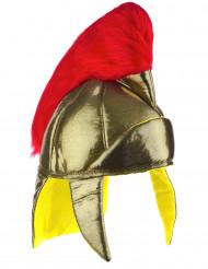 Romersk hjälm i guld - Maskeradhatt för vuxna