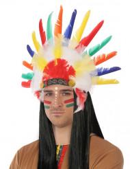 Jag är hövdning - Indianhuvudbonad för vuxna