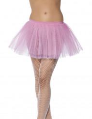 Blekrosa ballerinakjol för vuxna