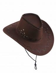 Brun cowboyhatt vuxna