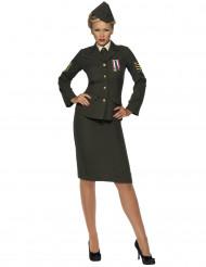Militärofficerdräkt med kjol - Maskeraddräkt för vuxna