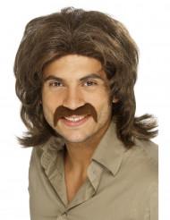 The Dude - Brun 70-talsperuk för vuxna