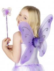 Lila fjärilskit för barn