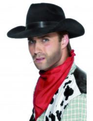 Svart cowboyhatt