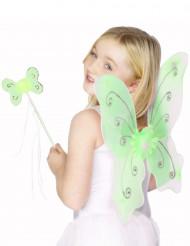 Grönt fjärilskit för barn