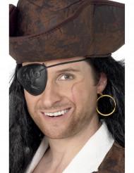 Örhänge och ögonlapp pirat vuxna