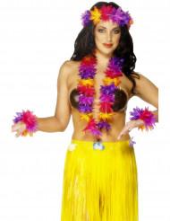Färgsprakande Hawaii-sats