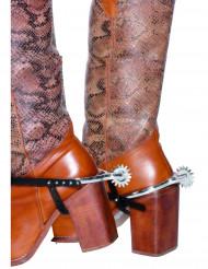 Cowboysporrar - Maskeradaccessoarer