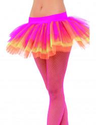 Värme - Flerfärgad tyllkjol för vuxen
