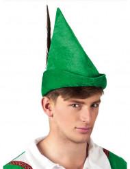 Grön skogshuggare hatt vuxen