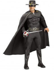 Muskulös Zorro™ Maskeraddräkt Man