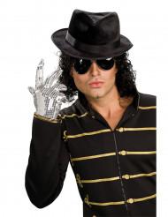 Michael Jackson™ silverhandske med paljetter vuxen