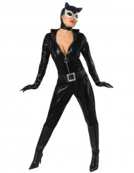 Catwoman™ Maskeraddräkt för vuxna till maskeraden
