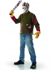 Maskeraddräkt Jason Fredagen den 13:e™ vuxen