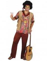 Peace Phil - Hippiedräkt i vuxenstorlek