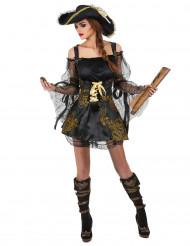 Gyllene Jenny - Piratdräkt för vuxna