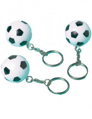 12 fotbollsnyckelringar