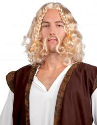 Mäktig viking - Mustasch och peruk för vuxna